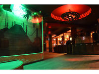 Fun tiki bar seeks promoters of music, comedy, band and open mic nights.