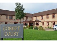 One bedroomed flat in Market Drayton suitable for a single person over 50