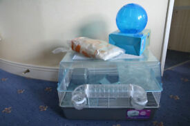 Pets at Home Hamster Large Plastic Hamster Home w/ Accessories