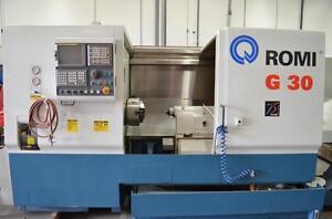 Romi G30 CNC Lathe