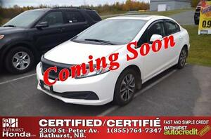 2013 Honda Civic Sedan EX Certified! Power Moonroof! Heated Seat