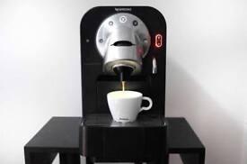 Nespresso Professional Gemini CS 100 CS100 Pro capsule coffee machine brushed steel and black £250