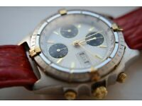 Automatic mechanical chronograph wristwatch - '90s - Ex-Mappin & Webb - Val 7750
