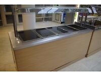 For Sale Dry & Wet Bain Marie Unit / Cavery Unit / Gantry / Chill Display / Buffet Unit