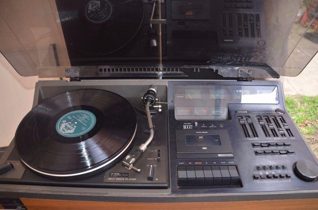 very rare, 1970's Hitachi Sound Music Centre STD-7675