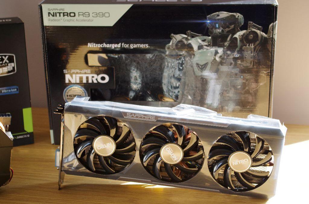 Brand New Sapphire R9 390 Nitro OC 8GB Graphics Card | in