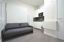 Brand New Studio Apartment-Edge of City-Modern-Central Line-Free Wifi-Furnished-Available Now