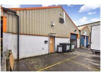 Light industrial warehouse unit for rent. Slough, Berkshire. Ideal for many uses. 3200sq ft