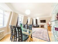 Spacious 3 bedroom flat for long let available immediately in Marylebone
