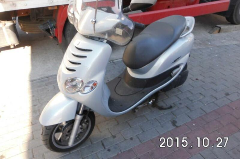motorroller yamaha 125 ccm bj 2003 in nordrhein westfalen. Black Bedroom Furniture Sets. Home Design Ideas