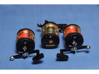 3 Sea Quest Boat Reels, un-used