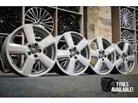 "*Refurbished* Genuine 18"" Audi Ronal RS6 Alloy Wheels 5x112 8P0601025S VW/Skoda/Seat/RS4/A3/A4/A6"