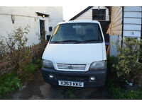 Very genuine low mileage litle panel van. Only been used privately for last 7 years