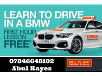LEARN TO DRIVE IN A BMW