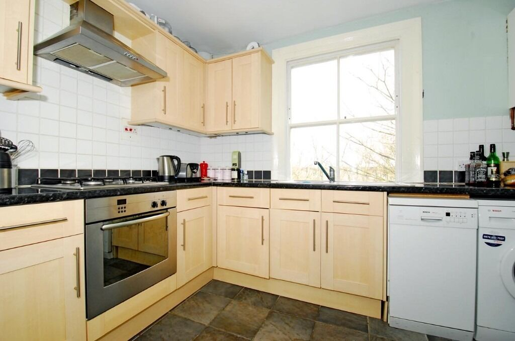 A Huge Two Bedroom Period Conversion Flat On Byrne Road - £1600pcm