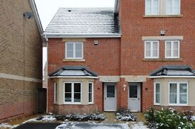 A modern two double bedroom unfurnished house to rent on South Road