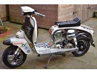 Lambretta TV Green With Envy RB 215cc Sprinter/Street Racer