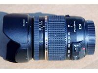 TAMRON 18-270 mm f/3.5-6.3 PLUS FILTERS.