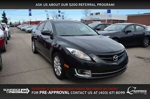 2011 Mazda MAZDA6 GS-L, HEATED SEATS, MOONROOF, LEATHER