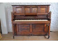 Gorman & Kallmann Arts and Crafts upright piano.