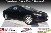2012 Honda Civic Coupe LX GREAT DEAL!!! Honda Certified! One-Own