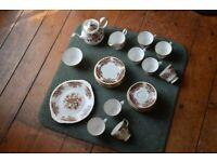 Vintage Colclough Royale bone china tea set