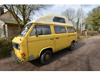 VW T25 Campervan 1982 in need of restoration