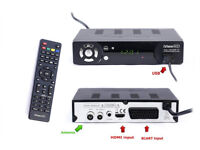 Freeview HD Receiver & HD USB Recorder with remote controller
