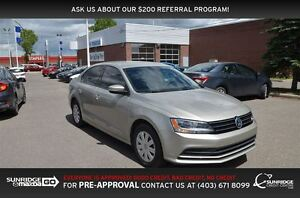 2016 Volkswagen Jetta 1.4 TSI Trendline, HEATED SEATS, CRUISE CO