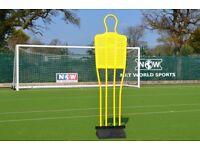 Football training mannequins x 3