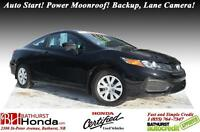 2014 Honda Civic Coupe EX LIKE NEW!!! Honda Certified! Auto Star