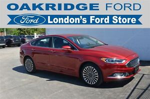 2017 Ford Fusion TITANIUM 300A, ALL WHEEL DRIVE, 2.0L ECOBOOST,