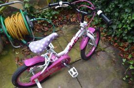 Pink bike age 4+