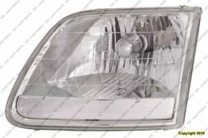 Head Lamp Passenger Side [2001-2003 Stx/King Ranch Models] [2003 Xl/Xlt With Heritage Package] High Quality Ford F150