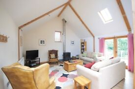 Beautifully converted barn in country setting near Kingsbridge
