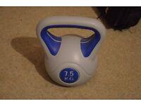 7,5 kgs kettleBell