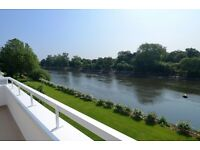 Direct River Views at Brentford Dock, Four Bedrooms with Garage and Parking