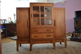 Vintage display cabinet unit Stanmore Middx