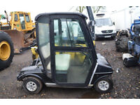 Club Car Golf Cart, Nearly New, Fully Enclosed Cab, Electric with Charger, Excellent Condition