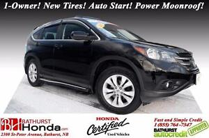 2014 Honda CR-V EX FWD Honda Certified! 1-Owner! New Tires! Auto