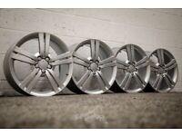 "*Refurbished* Genuine 18"" Seat Leon/Ibiza FR Andromeda Alloy Wheels 5x112 (Fits VW/Skoda/Audi)"