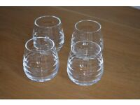 Beautiful Sophie Conran Balloon Tumblers/wine/water glasses x 4