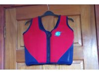 Children's swimming confidence vests (10-12 yrs and Zoggs, 4-5 yrs)