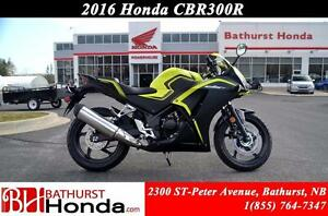 2016 Honda CBR300RA High Performance! Light & Compact! Quick Acc