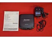 Sony Discman D-131 £60