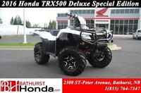 2016 Honda TRX500 Rubicon Deluxe - Special Edition Mag Wheels! I