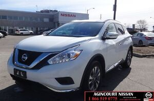 2017 Nissan Murano S |FWD|Low Ks| Not a Rental|No Accidents|