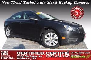 2013 Chevrolet Cruze LT Turbo Certified! New Tires! Turbo! Auto