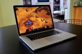 Apple MacBook Pro RETINA 15' 2.3Ghz i7 Quad Core 8Gb Ram 256GB SSD Logic Pro X Ableton Final Cut Pro