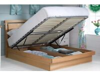 Double Ottoman Bed with Mattress